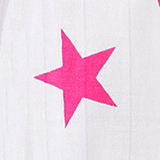 shocking pink star