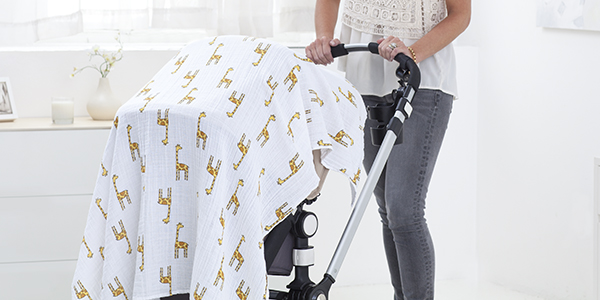 6 ways to use your swaddle blanket