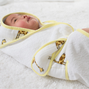 how to use our baby bath wrap