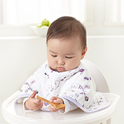 bib and burp cloth in one