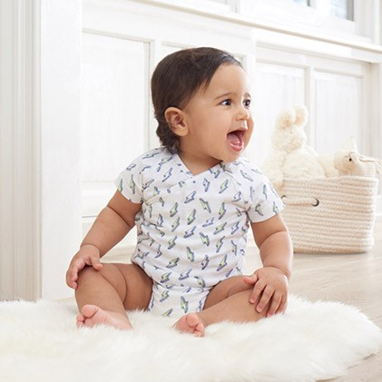 muslin baby clothing