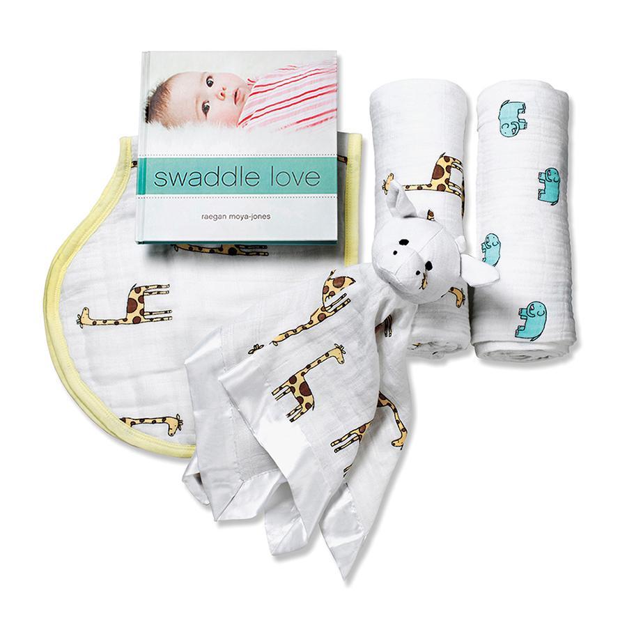 1202 1 gift set newborn muslin jungle jam