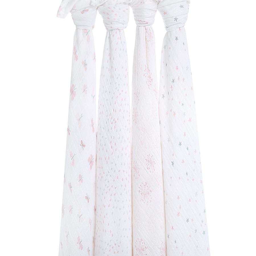 swaddles-muslin-lovely-reverie-pink-hang