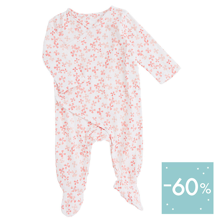 muslin-baby-clothing-long-snap-footed-pink-flower