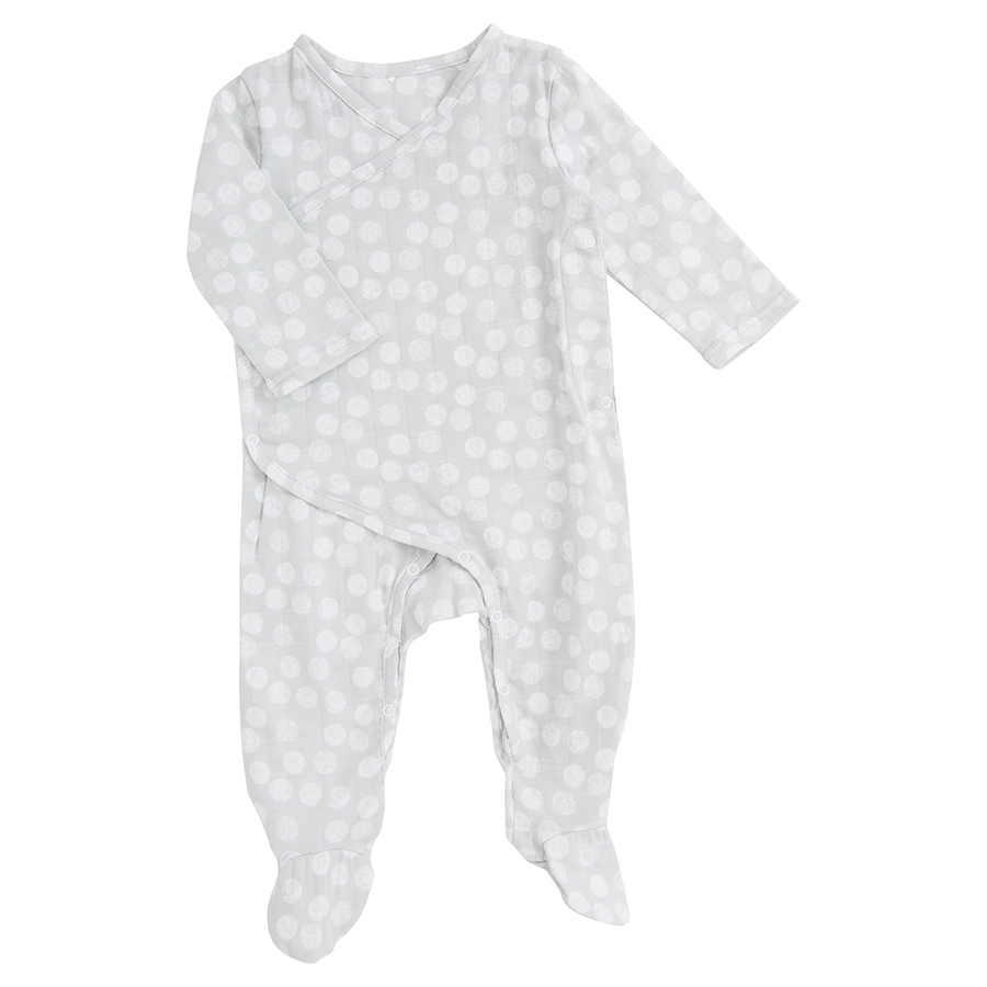muslin-baby-clothing-long-snap-footed-gray-grey-dot