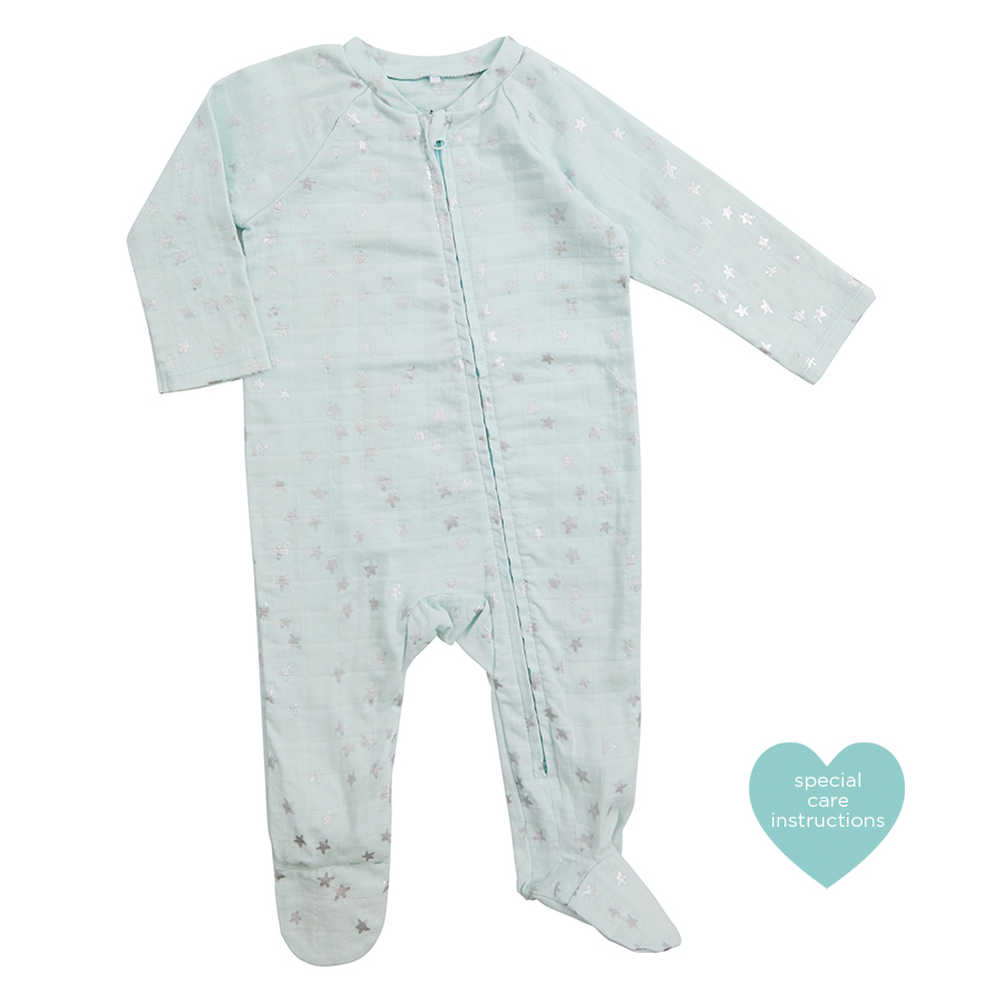 muslin-baby-clothing-silver-blue-star-zipper-foot