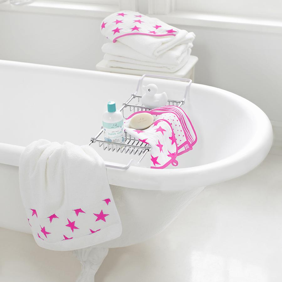 washcloth-muslin-bath-pink-stars