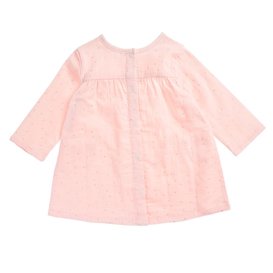 muslin-baby-clothing-pink-long-pocket-dress