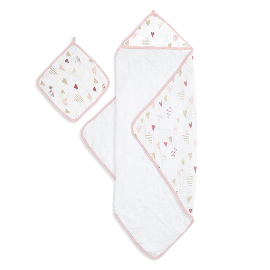 muslin-hooded-towel-set-heart-breaker-pink