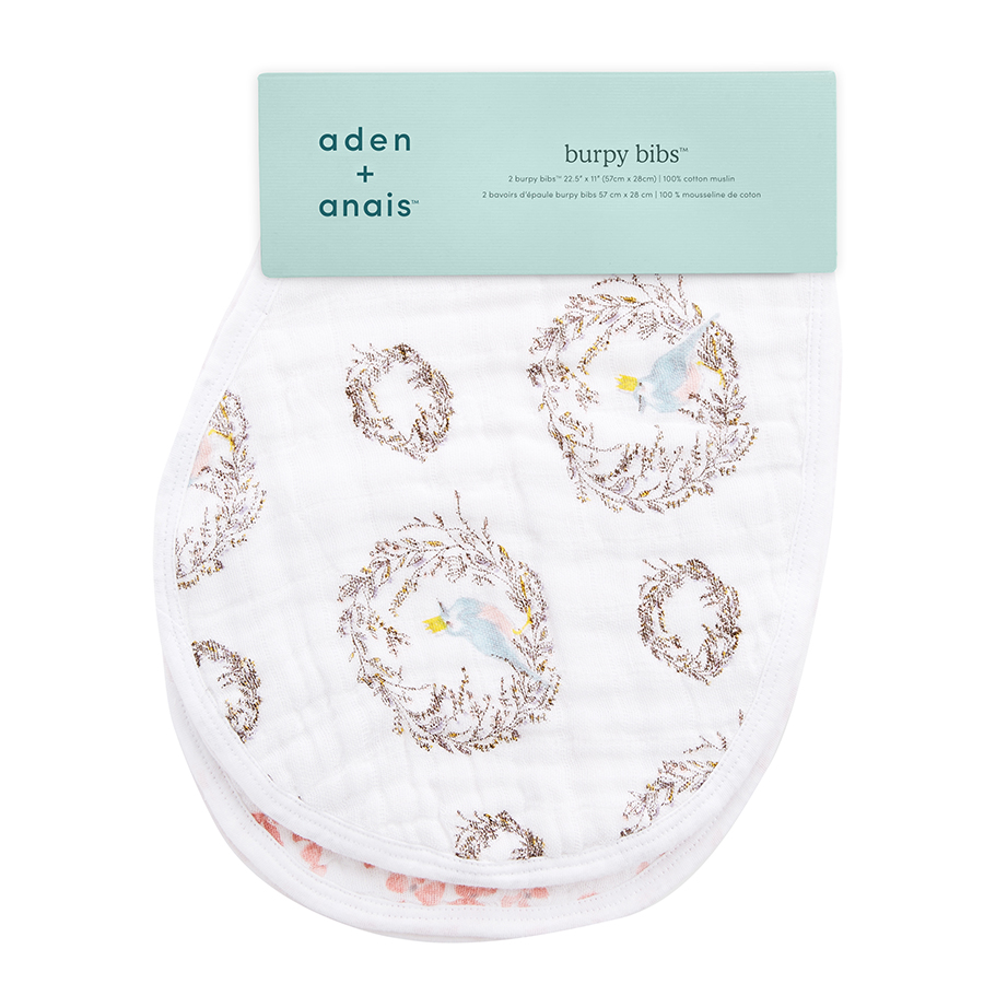 bib-muslin-burp-cloth-bird-nest-flower-bow-pink