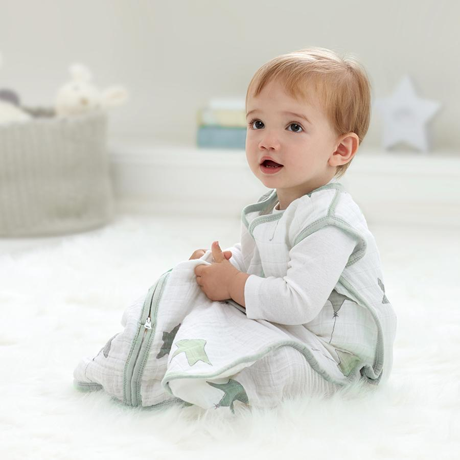 Classic Sleeping Bag Up Up Away Muslin Baby Sleep Sack