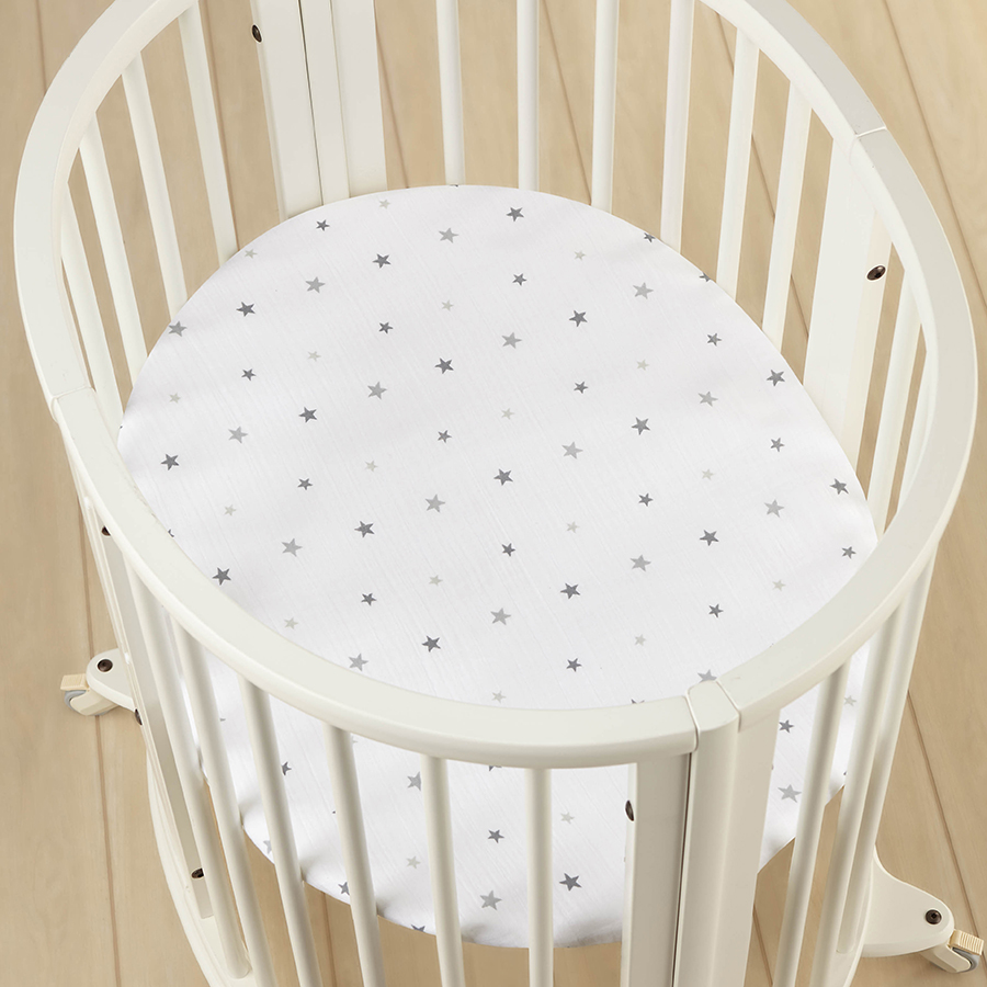 crib-sheet-stokke-muslin-mini-grey