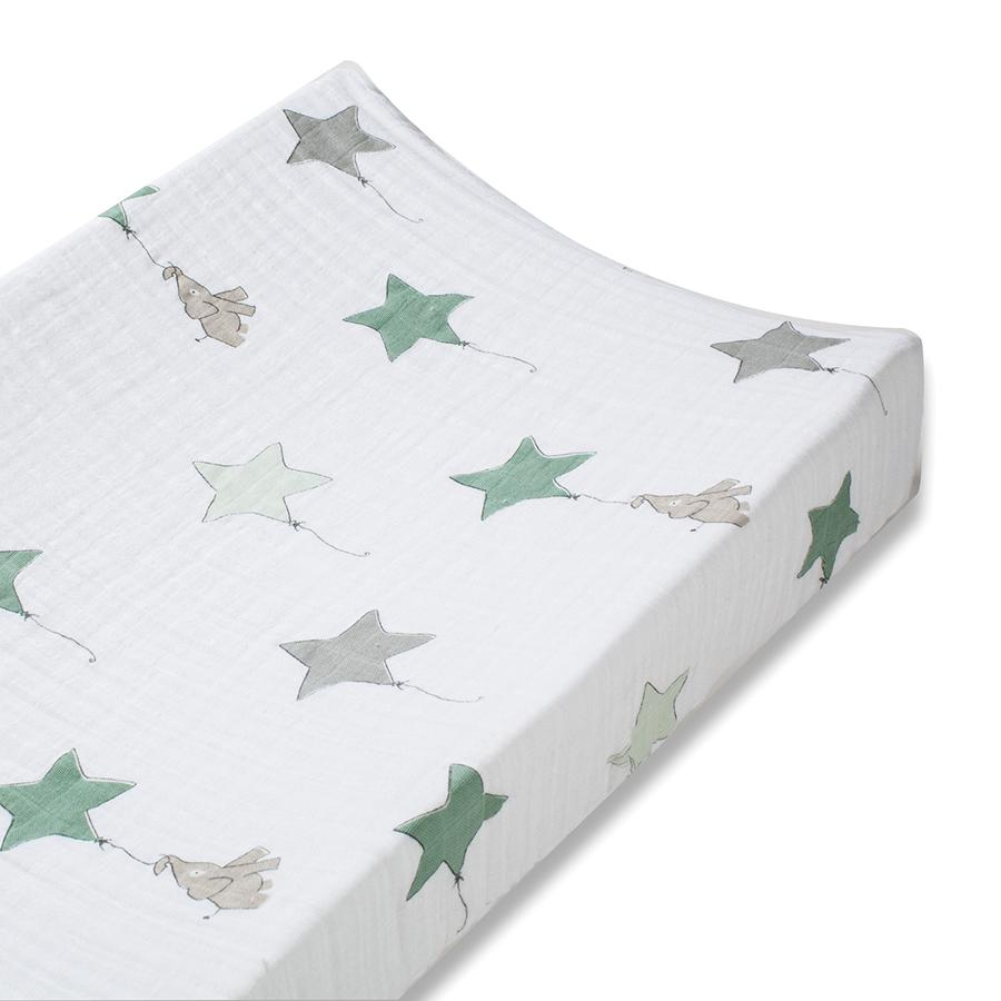 changing-pad-cover-muslin-elephant-star