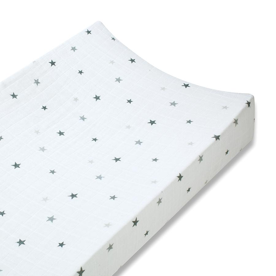 changing-pad-cover-muslin-grey-star