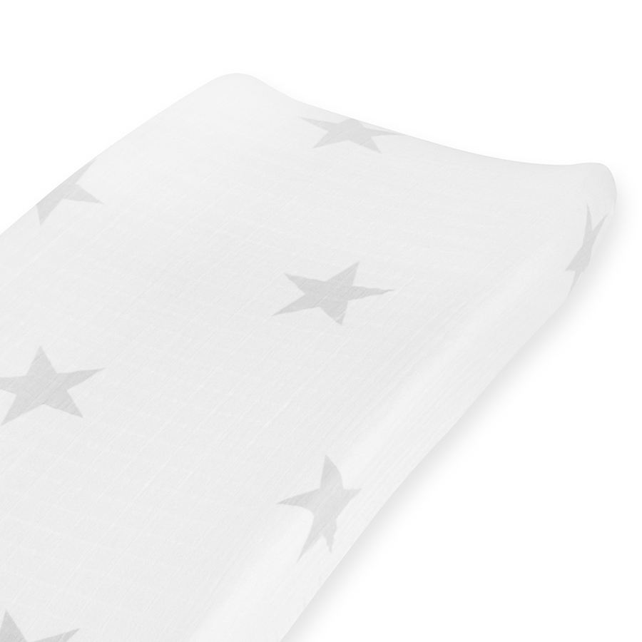 chaging-mat-cover-muslin-twinkle-star-grey