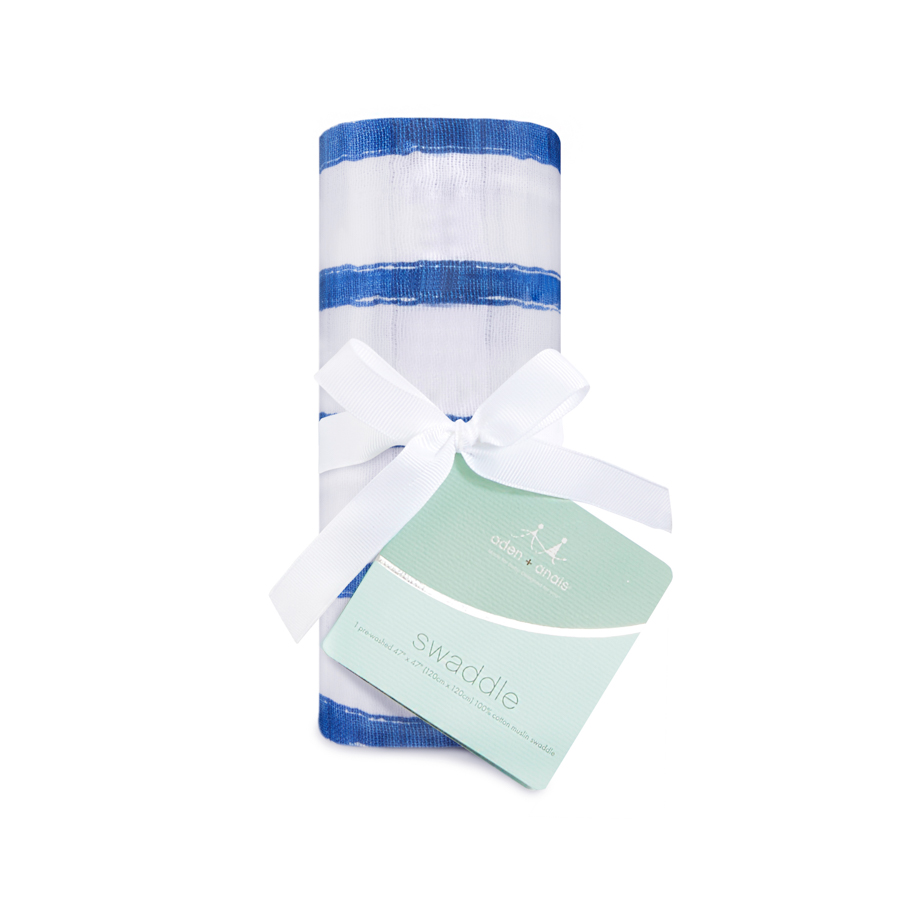muslin-swaddle-navy-blue-stripes
