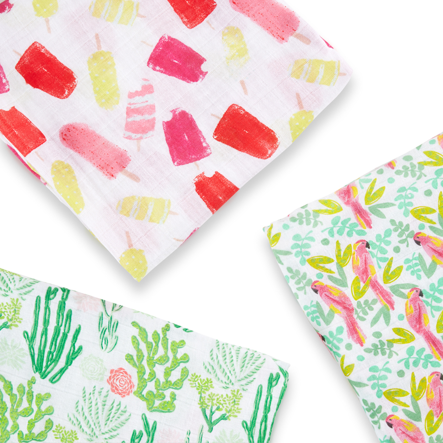 muslin-swaddle-green-pink-cactus