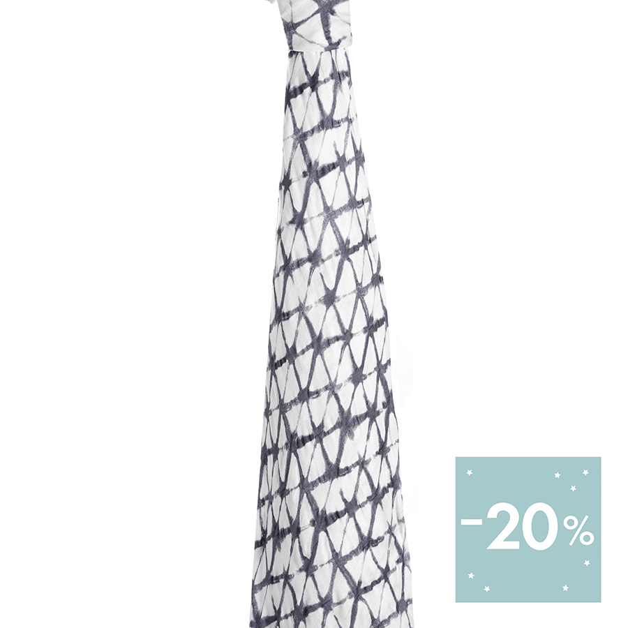 Pebble-Shibori-single-Swaddle-Hanging