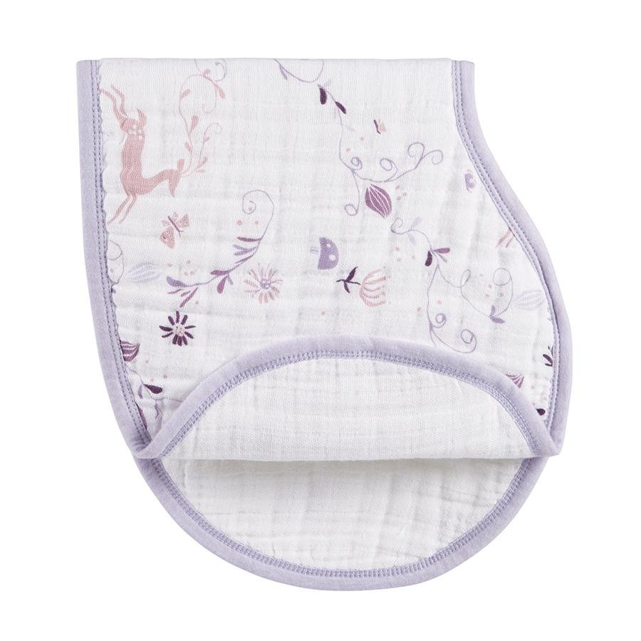 bib-muslin-organic-burp-cloth-purple-deer