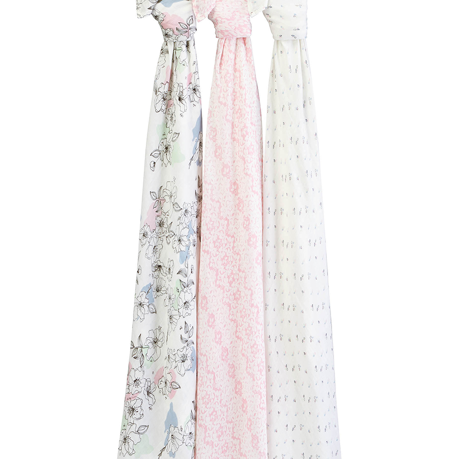 swaddle-muslin-silky-soft-pink-flowers