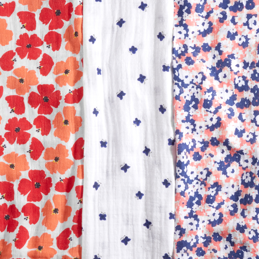 muslin-swaddle-blanket-red-blue-flowers