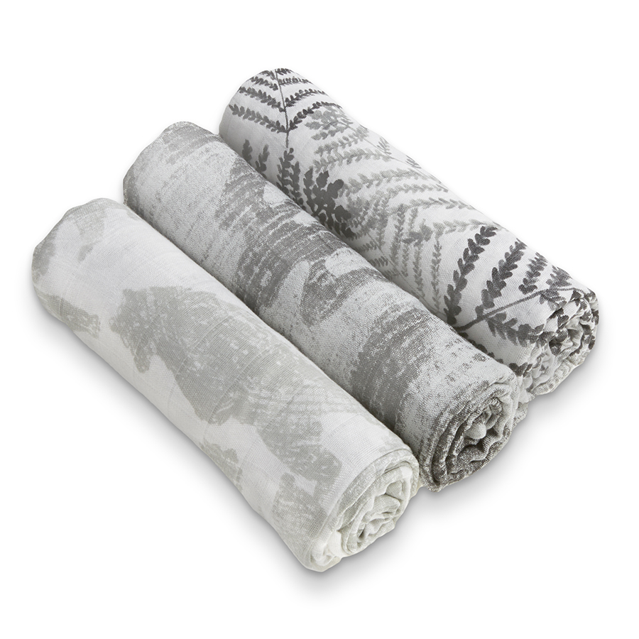 silky-soft-muslin-baby-swaddle-3-pk-bear-leaf-boy-foragers-white-label