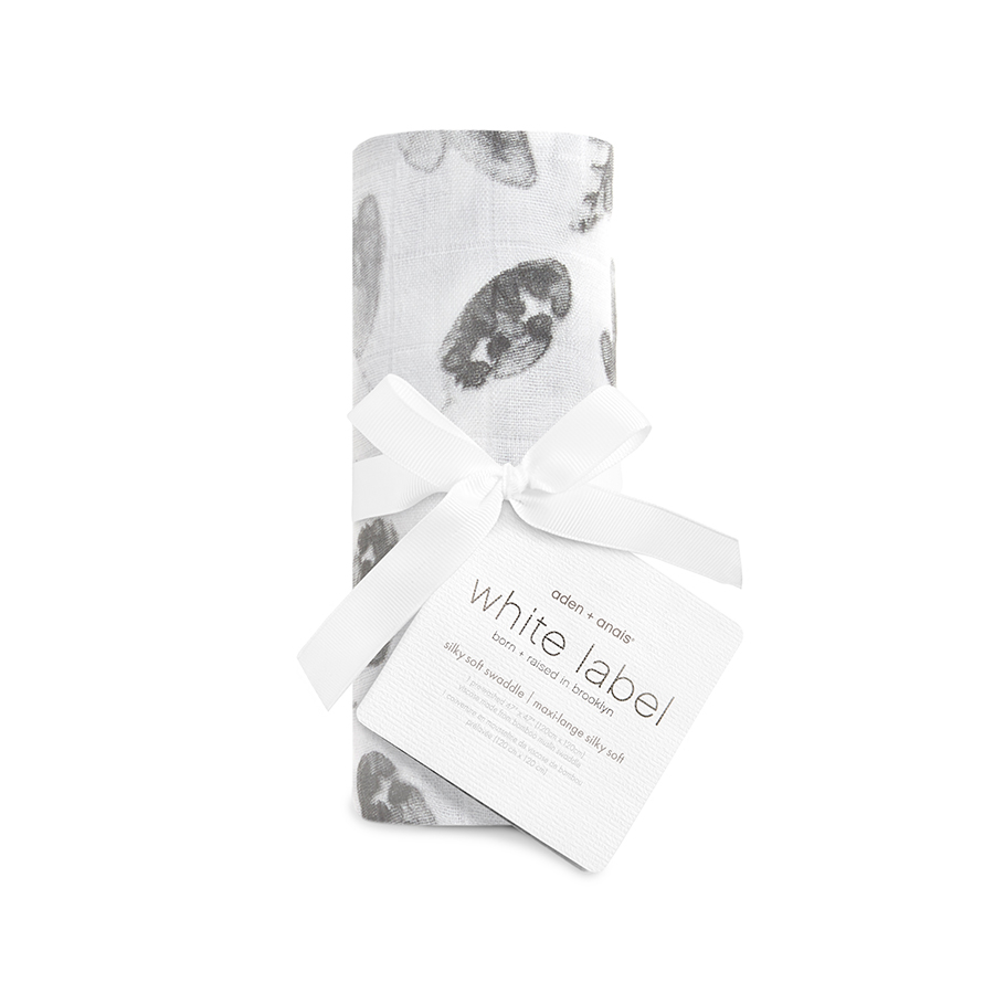 silky-soft-muslin-baby-single-swaddle-bear-leaf-boy-foragers-white-label