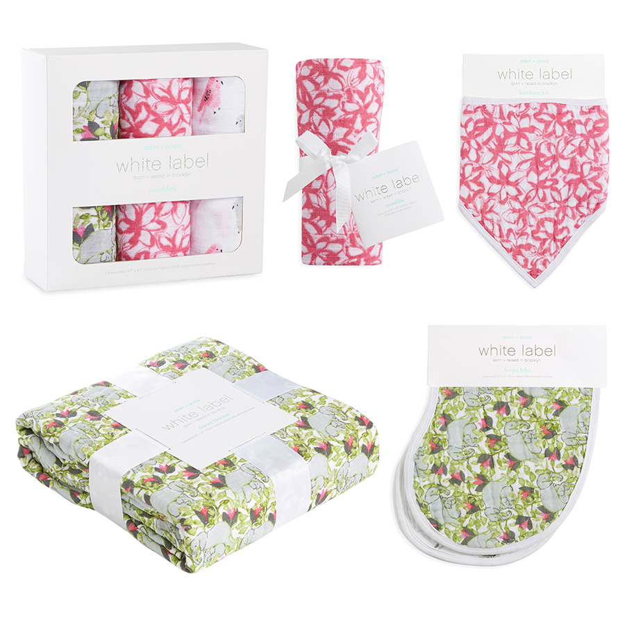 muslin-burp-cloth-green-pink-elephants-birds