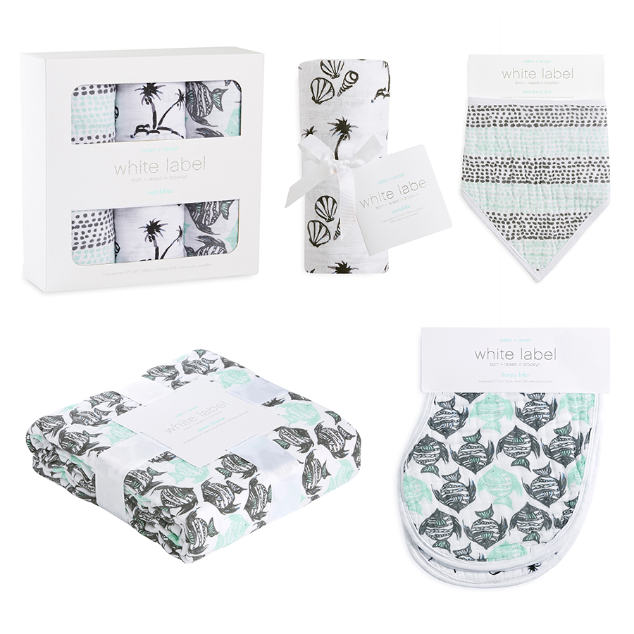 muslin-burp-cloth-grey-aqua-fish-shells