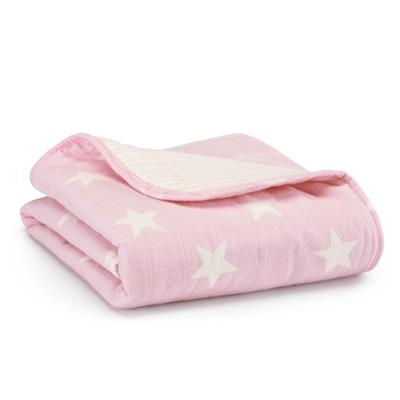 flannel-muslin-stroller-blanket-lovely-star