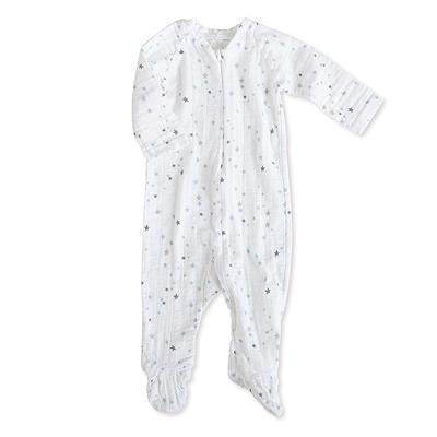 one-piece-zipper-muslin-blue-stars