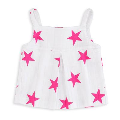baby-smock-top-muslin-pink-large-stars