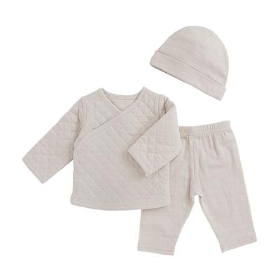 muslin-baby-clothing-newborn-set-tan