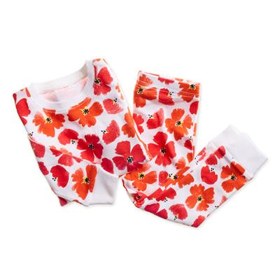 cotton-baby-toddler-sleepwear-pajamas-poppies-flower-red