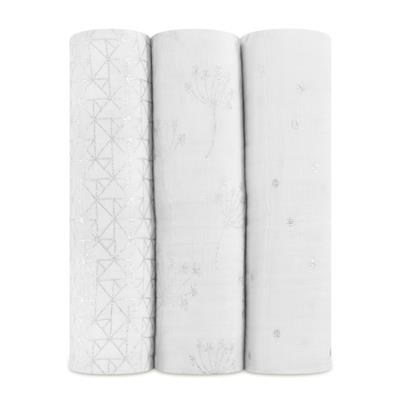 swaddles-muslin-metallic-silver-white