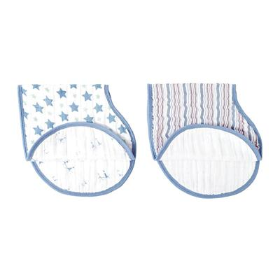 bib-muslin-burp-cloth-blue-star-stripes
