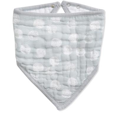 classic-bandana-bib-muslin-dream-ride-moon-dot-grey-gray
