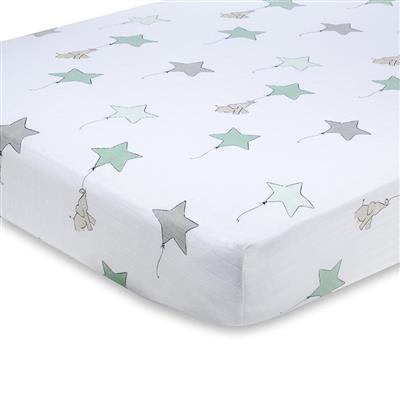 crib-sheet-muslin-elephant-star-balloon