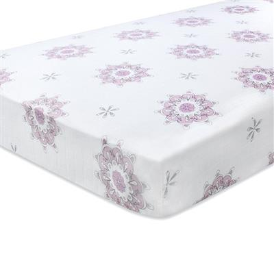 crib-sheet-muslin-pink-for-the-birds