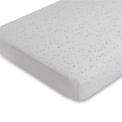 metallic-crib-sheet-grey
