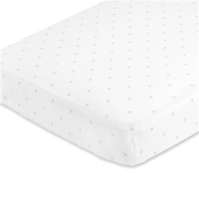 muslin-crib-sheet-grey-dot