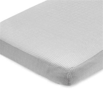 muslin-crib-sheet-grey-pinstripe