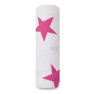 swaddle-muslin-pink-stars-large