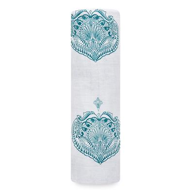 muslin-swaddle-1pk-paisley-teal
