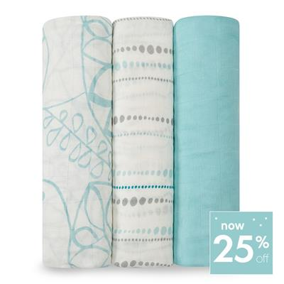 swaddle-muslin-silky-soft-blue-leaf