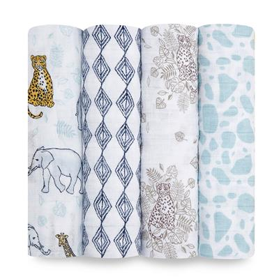 baby-classic-single-swaddle-muslin-4-pack-jungle