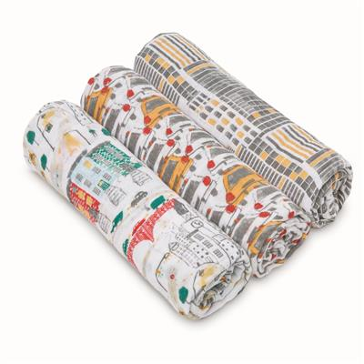 white-label-classic-swaddle-3pk-city-living-taxi-yellow