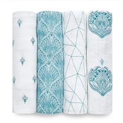 classic-swaddle-4pk-paisley-teal