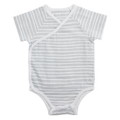muslin-baby-clothing-short-suit-gray-grey-stripe