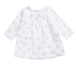muslin-baby-clothing-pocket-dress-silver-flower-front